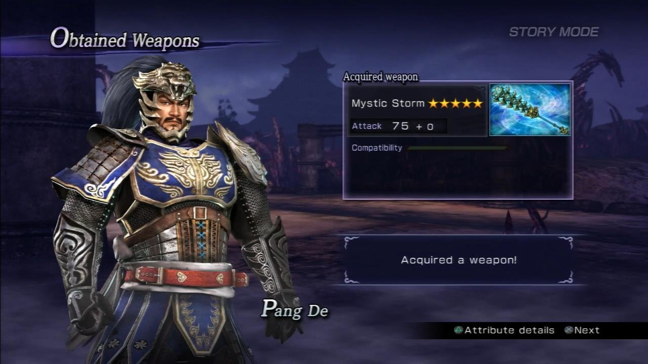 warriors orochi 3 mystic weapon guide