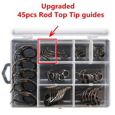 how to repair fishing rod guide ceramic