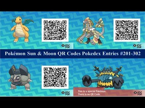 qr codes guide sun moon