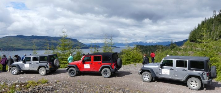 self guided tour of icy strait