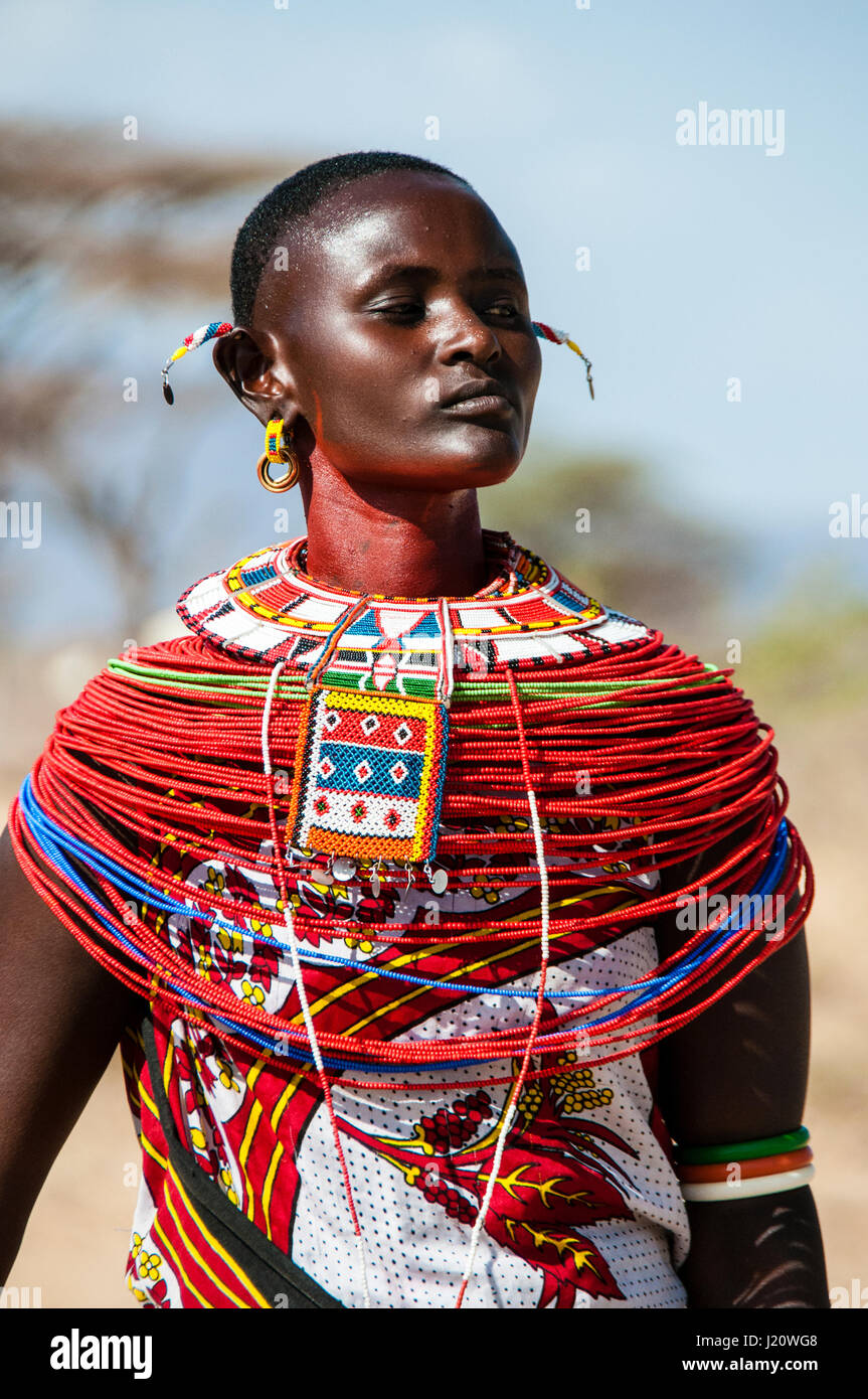 beaded necklaces samburu girl guides