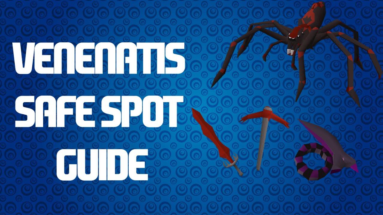 venenatis safe spot guide osrs