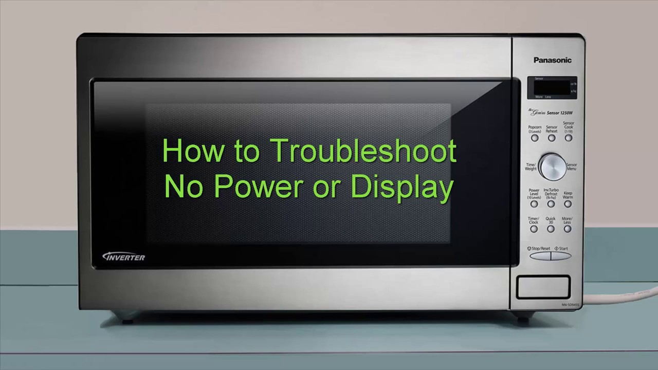 panasonic microwave troubleshooting guide nn-sd227