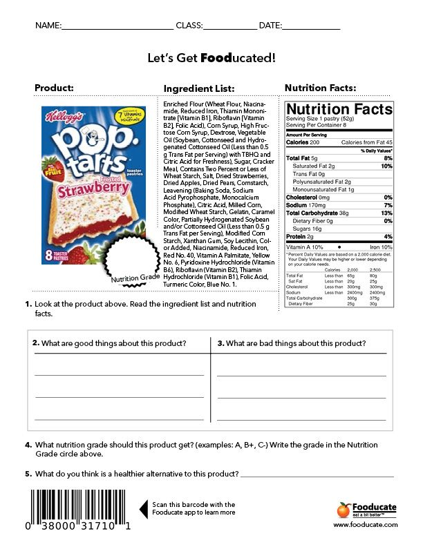 canada food guide project elementary