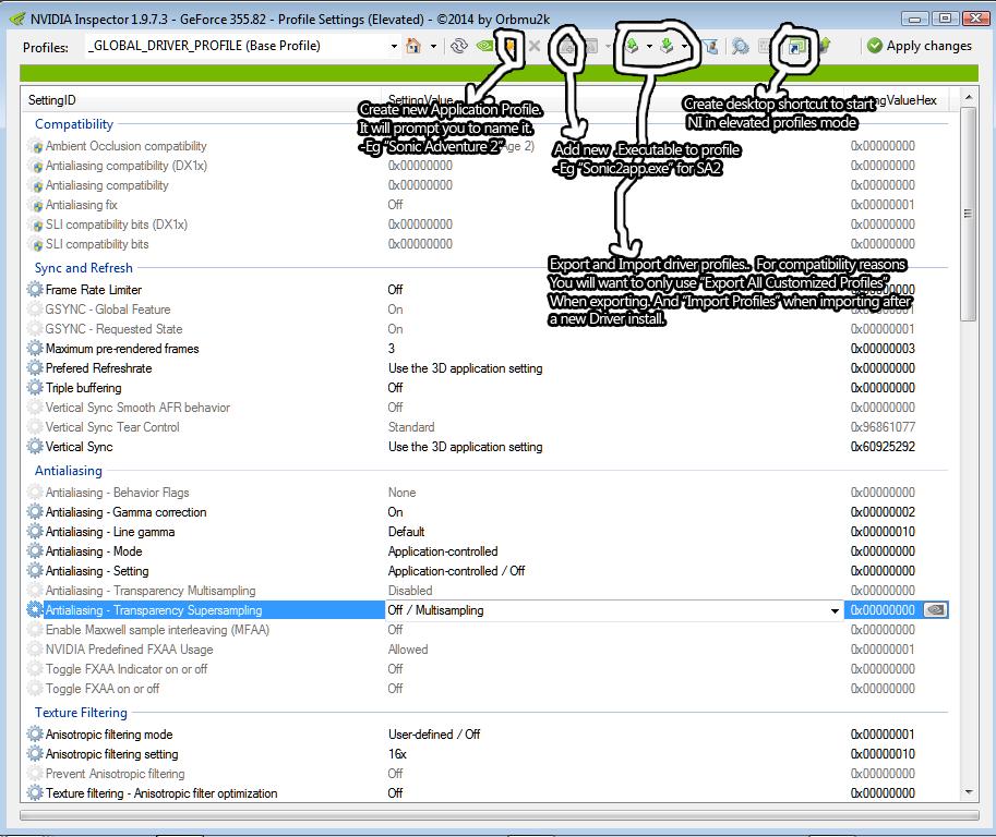 nvidia inspector anti aliasing guide
