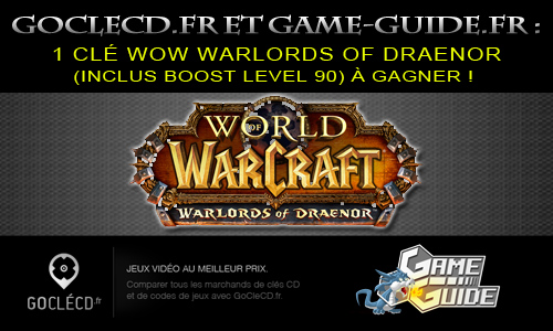 guide wow acheter le jeu