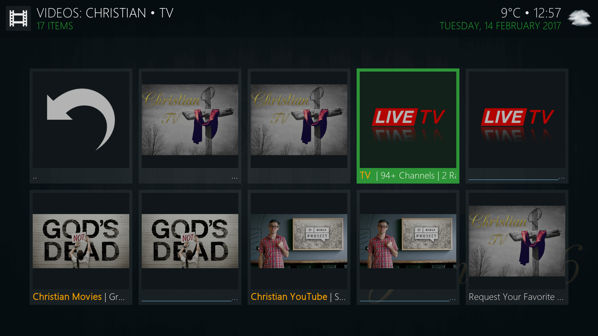 kodi with john tv guide