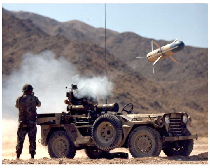 how do wire guided missiles work