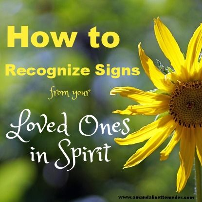 how to get signs from spirit guides