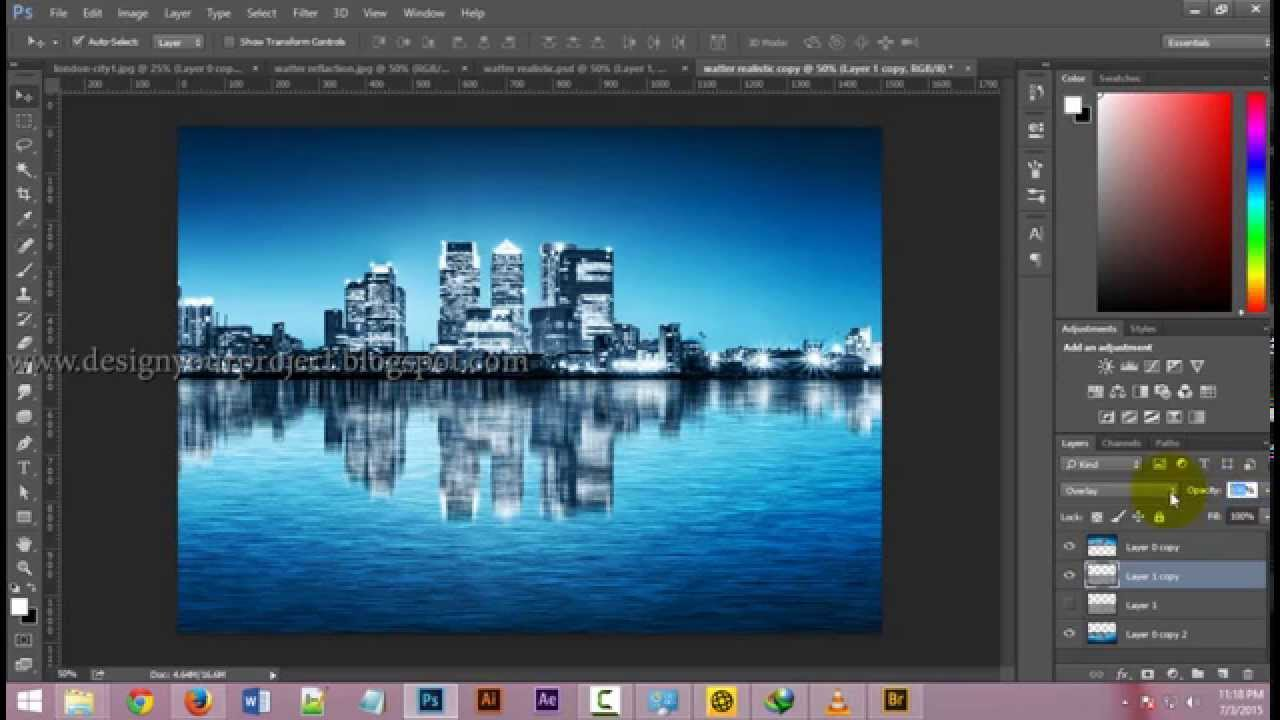 how to access new guide layout photoshop microsoft