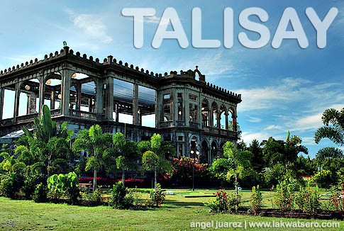 the ruins talisay tourist guide