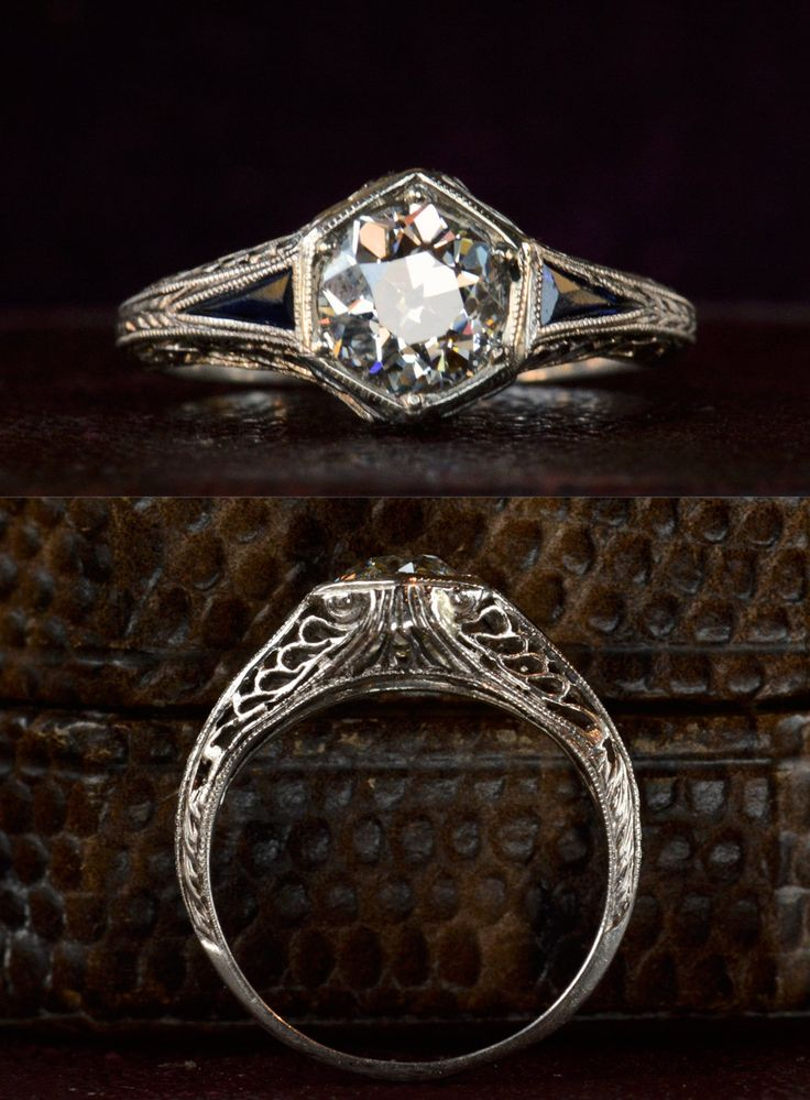 guide to buying antique engagement ring