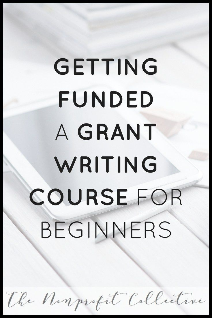 beginners guide to grant writing