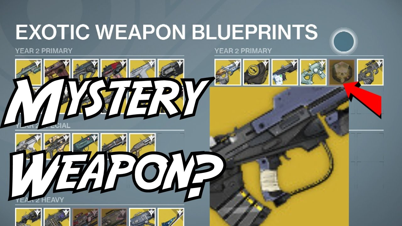 destiny exotic weapons year 2 guide