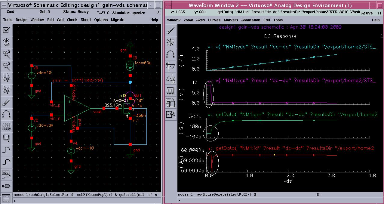 virtuoso spectre circuit simulator rf analysis user guide