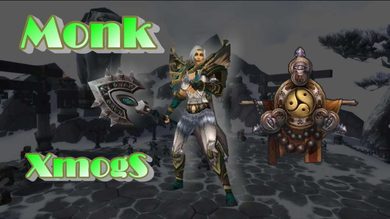 world of warcraft monk armour guide