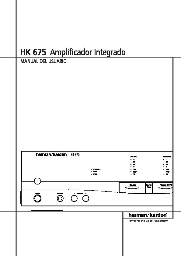 harman kardon hk 3375 guide utilisation