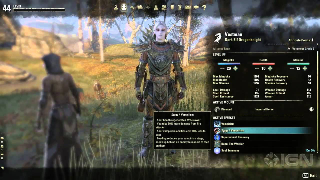 skyrim online ps4 class guide