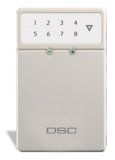 dsc lcd keypad user guide