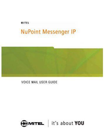 meridian mail user guide voice messaging