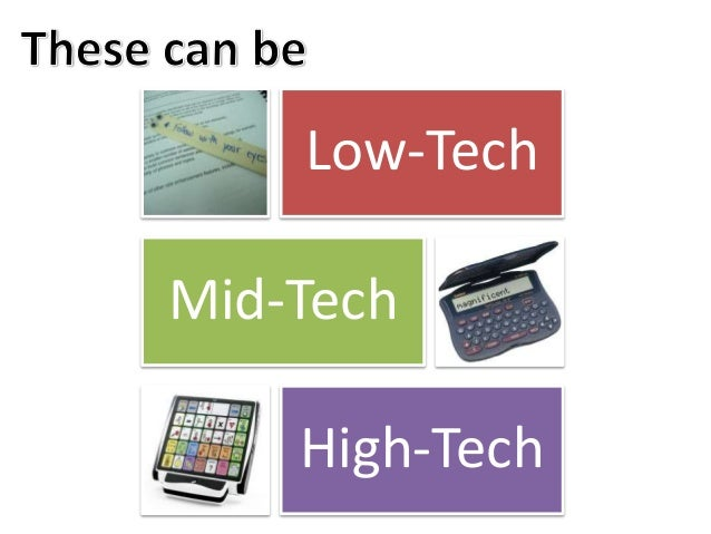 is a guide dog a low tech assistive technology