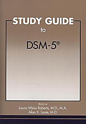 dsm 5 quick study guide