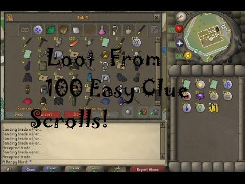 osrs easy clue scroll guide