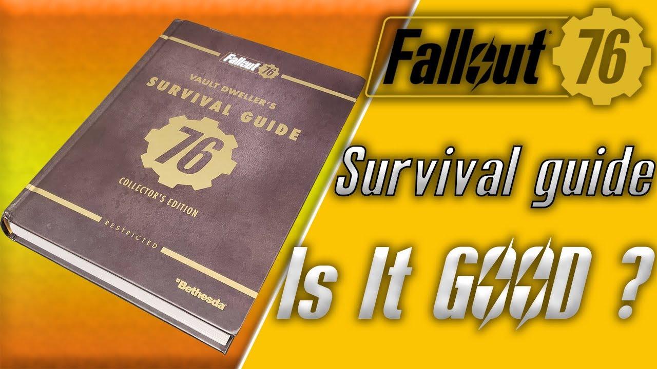 fallout vault shelter survival guide