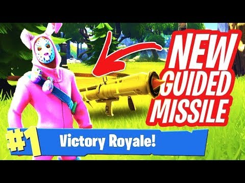 fortnit diid the guided missil got removed