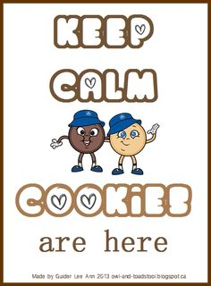 keep calm girl guide cookies are here meme