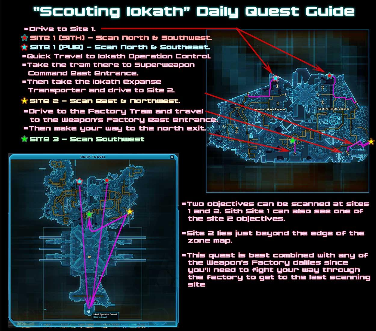 mercenary post daily quest guide