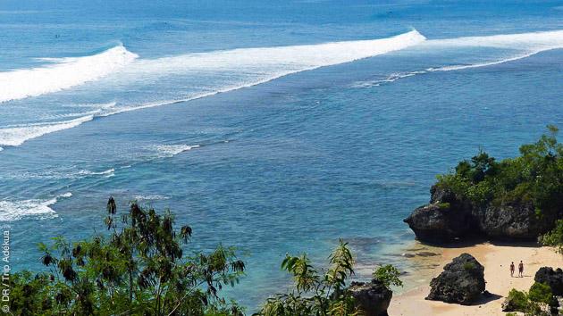 voyage de surf avec guide